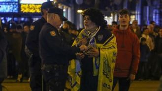 La policía ha deportado a cuatro ultras 'peligrosos' con motivo de la Copa Libertadores