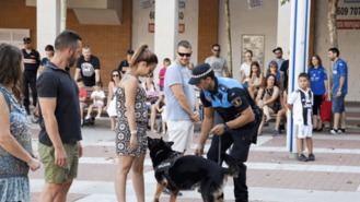 La Unidad Canina de la Policía permite levantar 185 actas por estupefacientes