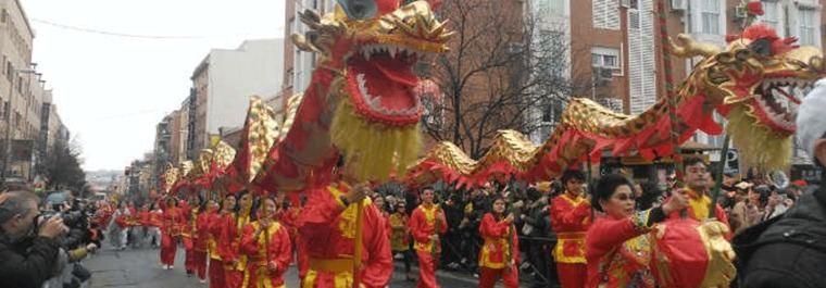 Conciertos y pasacalles para celebrar el Año Nuevo Chino de Usera