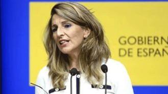 Díaz deja la puerta abierta a prorrogar los ERTE en 2021 y a mantener la actual prestación