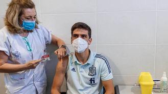 La selección española, vacunada ya en las Rozas contra el coronavirus