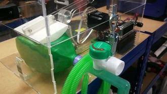 Vecinos crean un grupo para aglutinar ideas e imprimir respiradores 3D