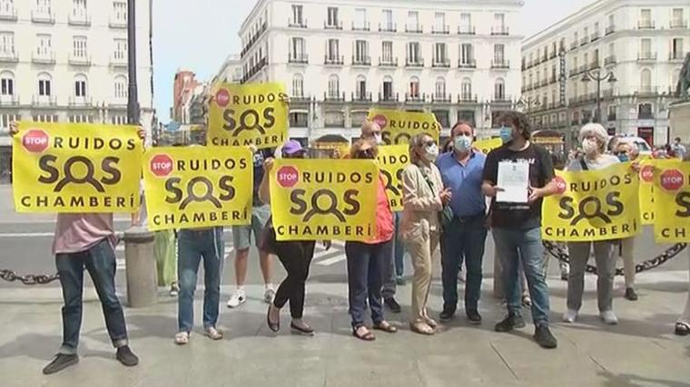 Vecinos de Centro, Retiro, Arganzuela y Chamberí protestan por la degración de sus barrios