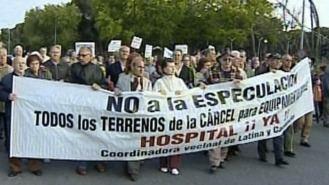 Nuevas movilizaciones para pedir un hospital público en la antigua cárcel de Carabanchel