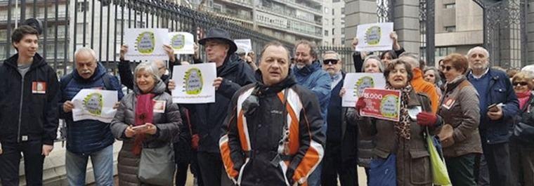Más de 35.000 firmas contra el 'gastroparking' de Retiro