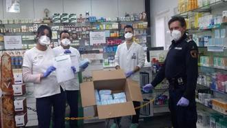 El Ayuntamiento distribuye mascarillas entre los vecinos a través de las farmacias