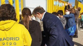 Partida visita al CEIPSO Padre Garalda en el Día de la Familia