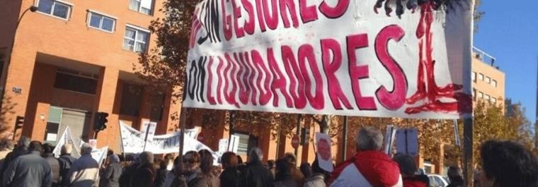 Afectados de los `fondos buitre´ protestarán por la amenaza de desahucio