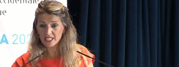 Díaz defiende subir el SMI: La decisión 'está ahora en la parte mayoritaria del Gobierno'