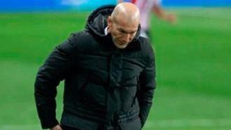 Zidane da positivo en coronavirus y no viajará a Vitoria