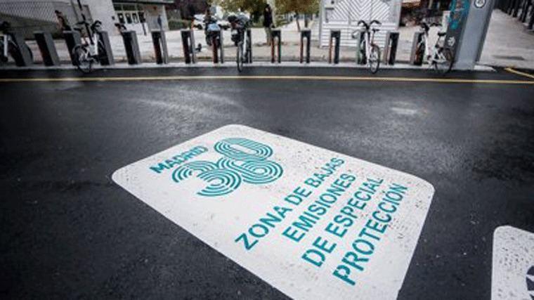 El preaviso de sancione por acceder a la zona de bajas emisiones en Centro arranca el lunes